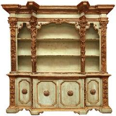 Antique Italian Baroque Cupboard