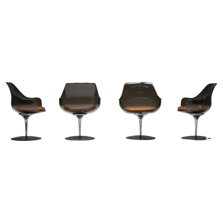 Champagne Chairs by Erwine & Estelle For Laverne International, 1959 For Sale