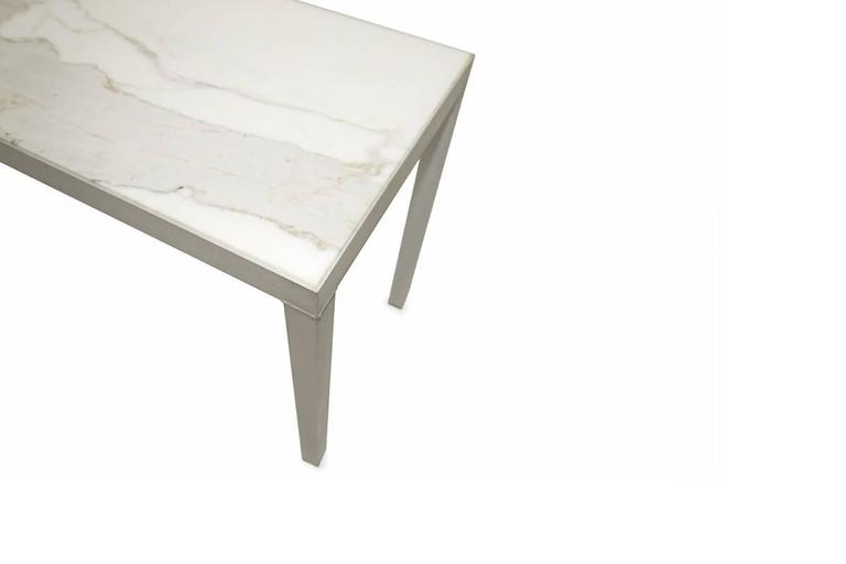 Post-Modern CARRARA MARBLE Console STARCK For Sale