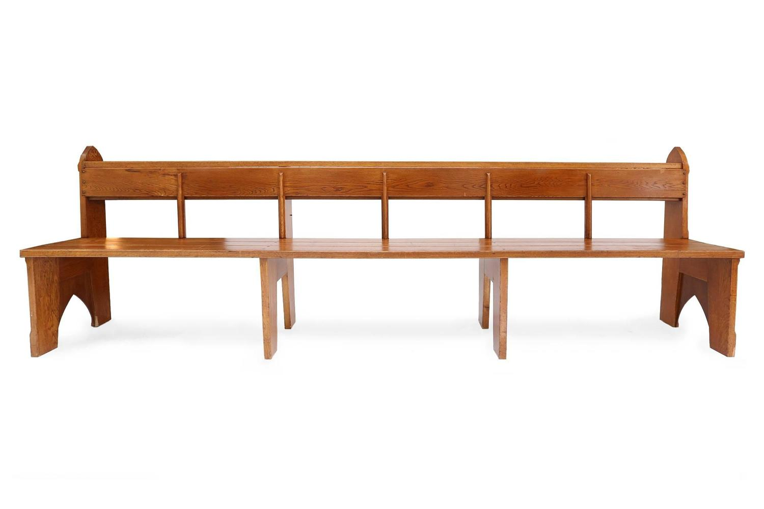 Vt Wonen Wandplank.Amsterdam School Style Art Deco Oak Benches 1 For Sale At 1stdibs