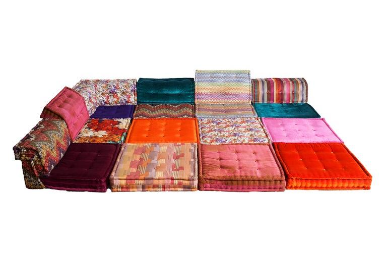 mah jong modular composition missoni sofa at 1stdibs. Black Bedroom Furniture Sets. Home Design Ideas