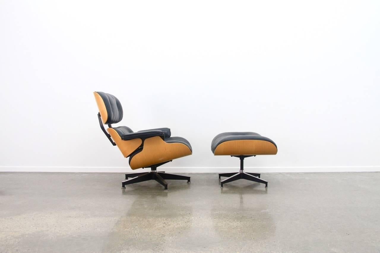 The Well Known Eames Lounge Chair And Ottoman For Herman Miller, USA, 1970s