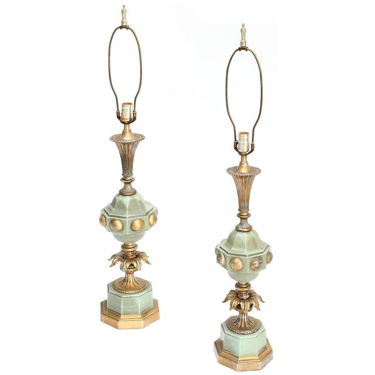 1930s Hollywood Regency Lamps