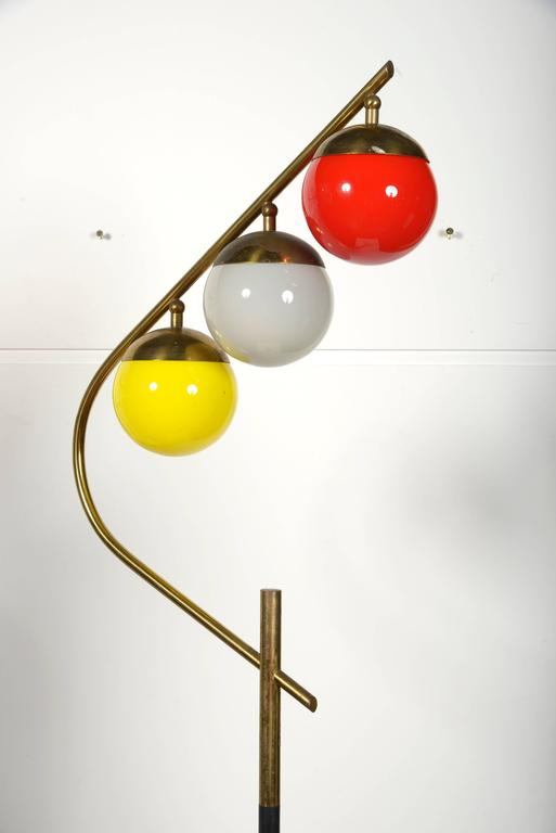 1960s Italian floor lamp.