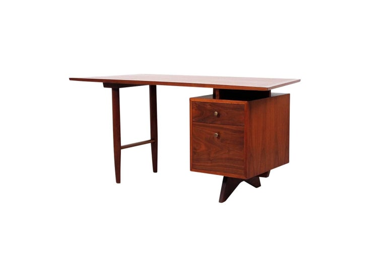 George Nakashima designed desk for the Widdicomb