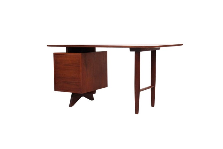 Mid-20th Century George Nakashima Origins Desk For Sale