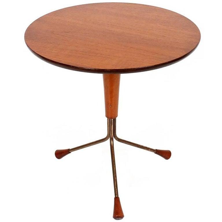 Teak Side Table Designed by Albert Larsson