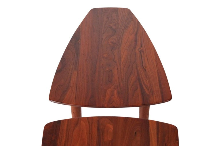 Pair of Walnut Side Tables by Ace-Hi For Sale 4