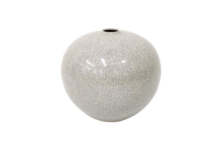 Post-Modern Cliff Lee Porcelain Vase For Sale