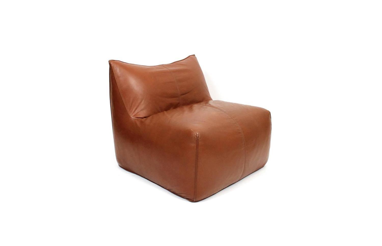 Mario Bellini Le Bombole Leather Lounge Chair For B B