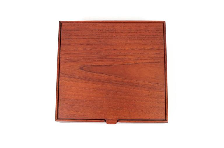 Mid-20th Century Ejner Larsen and Aksel Bender Madsen for Willy Beck Jewelry Box For Sale