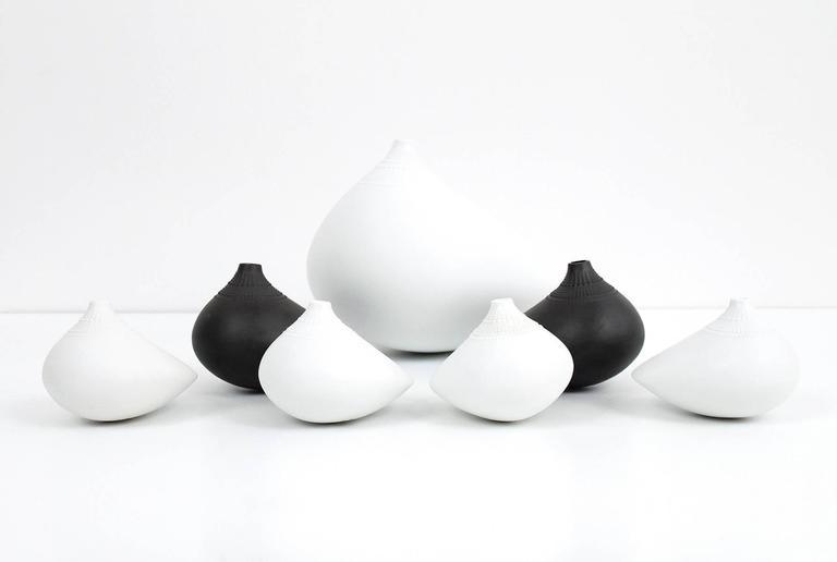 """Tapio Wirkkala for Rosenthal """"Pollo"""" Vase Collection 7"""