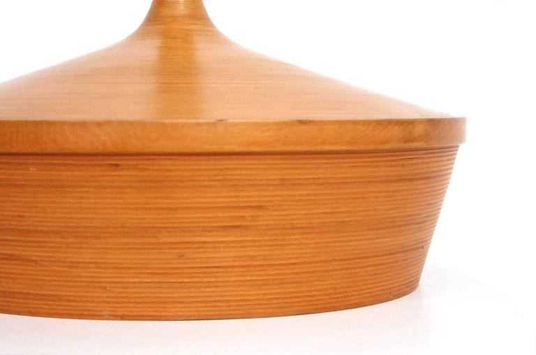 Birch Large-Scale Lidded Scandinavian Vessel For Sale