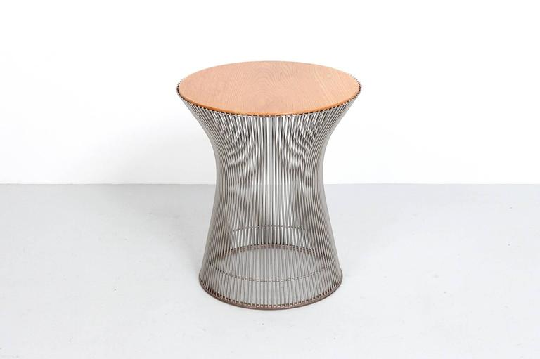 American Pair of Side Tables by Warren Platner for Knoll For Sale