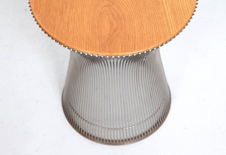 Mid-20th Century Pair of Side Tables by Warren Platner for Knoll For Sale