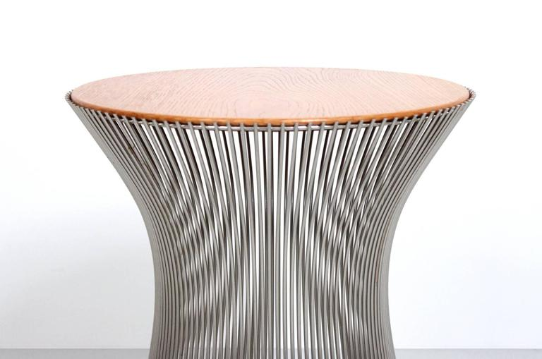 Chrome Pair of Side Tables by Warren Platner for Knoll For Sale