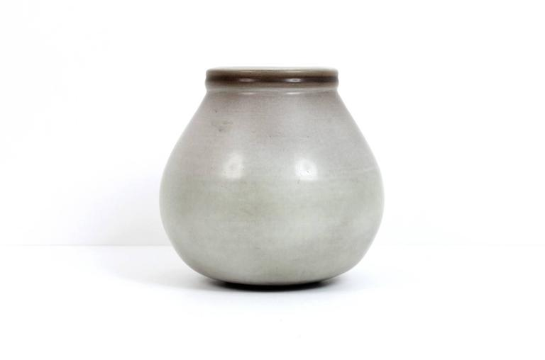 Larger Rupert Deese Pottery Vase In Excellent Condition For Sale In Belmont, MA
