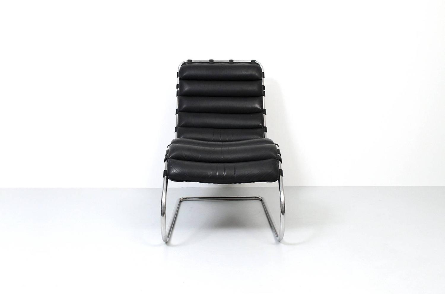 mies mr chaise lounge chair for knoll for sale at 1stdibs. Black Bedroom Furniture Sets. Home Design Ideas