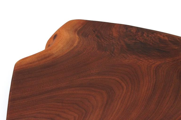 Sculptural Walnut Cutting Board by Dirk Rosse For Sale 1