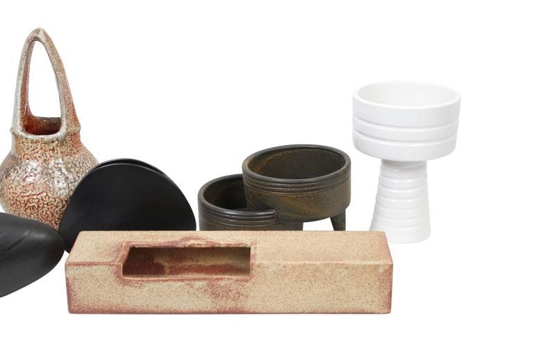 Ceramic Japanese Ikebana Flower Vase Collection For Sale