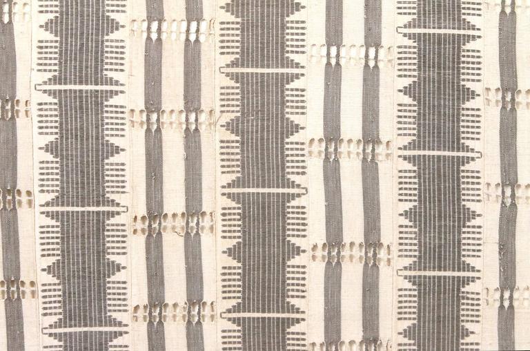 Large Modernist Framed Textile For Sale 1