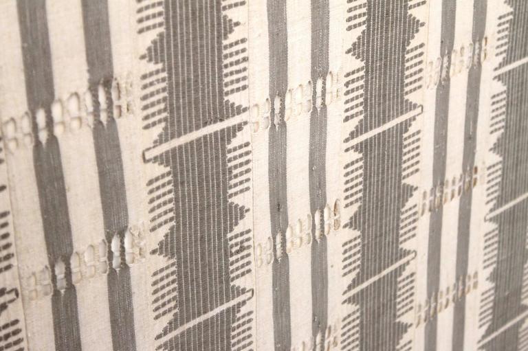 Large Modernist Framed Textile For Sale 2