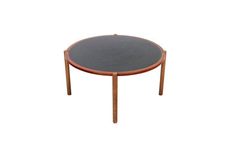 Danish Hans Wegner Coffee Table with Reversible Top For Sale