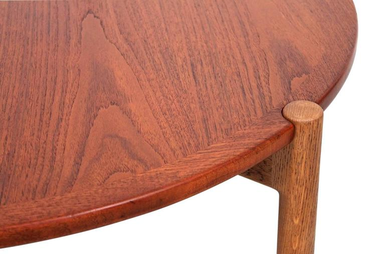Mid-20th Century Hans Wegner Coffee Table with Reversible Top For Sale