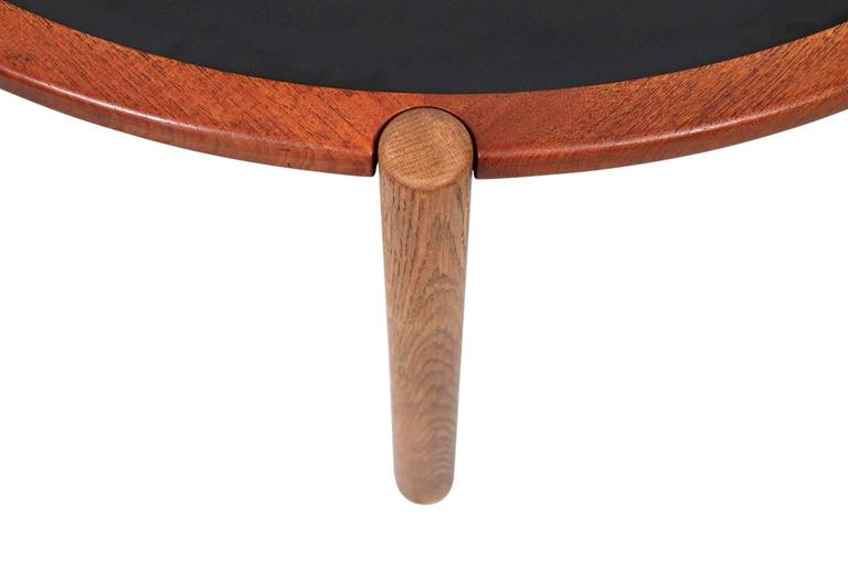 Hans Wegner Coffee Table with Reversible Top For Sale 1