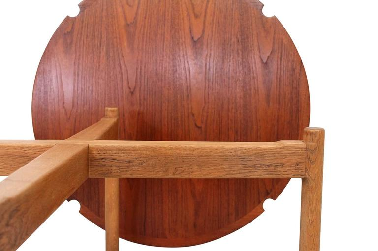 Hans Wegner Coffee Table with Reversible Top For Sale 2