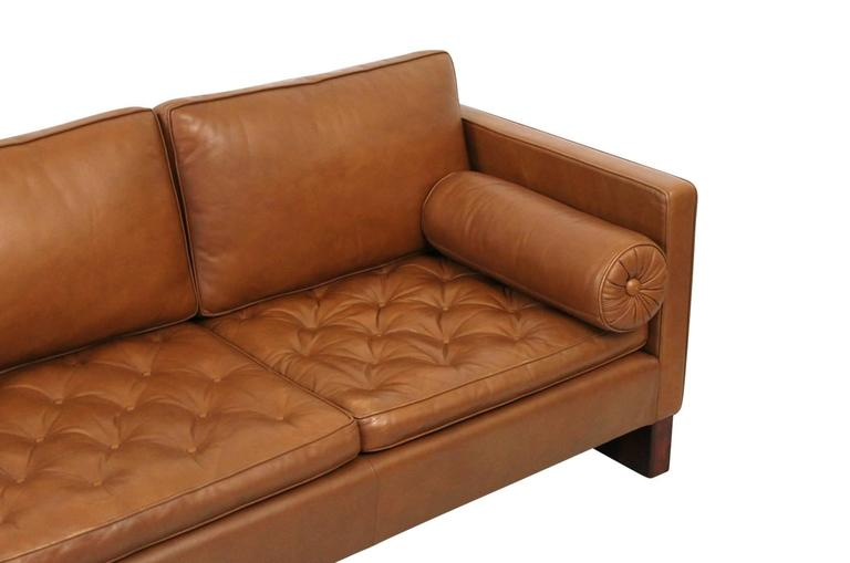 Leather Sofa by Mies Van Der Rohe for Knoll For Sale 2