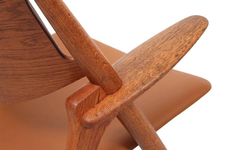 Hans Wegner Sawbuck Lounge Chairs For Sale 1