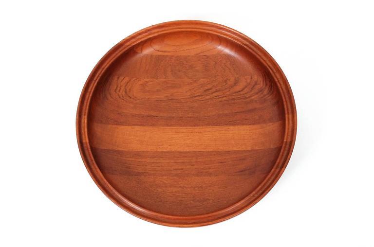 Danish Large Henning Koppel for Georg Jensen Teak Bowl For Sale