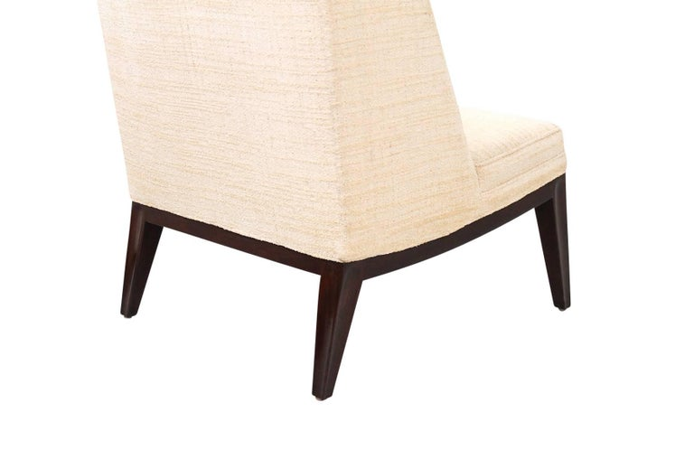 Upholstery Edward Wormley for Dunbar Lounge Chairs For Sale