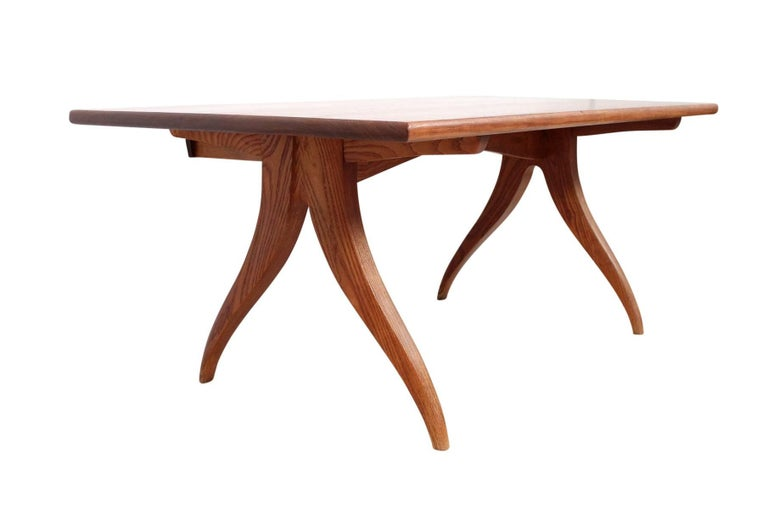 Rare Sculptural Desk by Jere Osgood In Excellent Condition For Sale In Belmont, MA