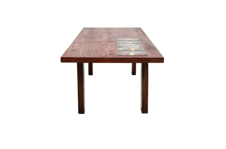 Vladimir Kagan Tile Top Coffee Table For Sale At 1stdibs