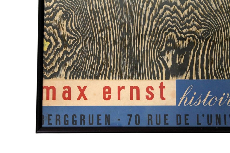 French Max Ernst Histoire Naturelle Poster For Sale