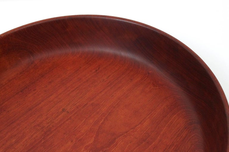 Large turned wood centerpiece bowl by william frost at stdibs