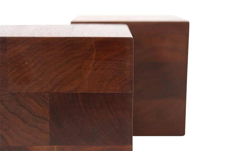 Walnut Martz Bookends For Sale 1