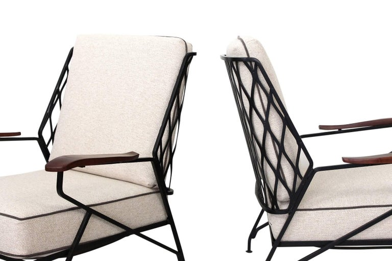 Mid-20th Century Salterini Lounge Chairs by Maurizio Tempestini For Sale