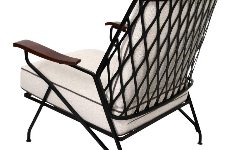 Steel Salterini Lounge Chairs by Maurizio Tempestini For Sale