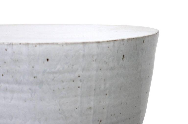 Large Tariki Ceramic Stool For Sale 1
