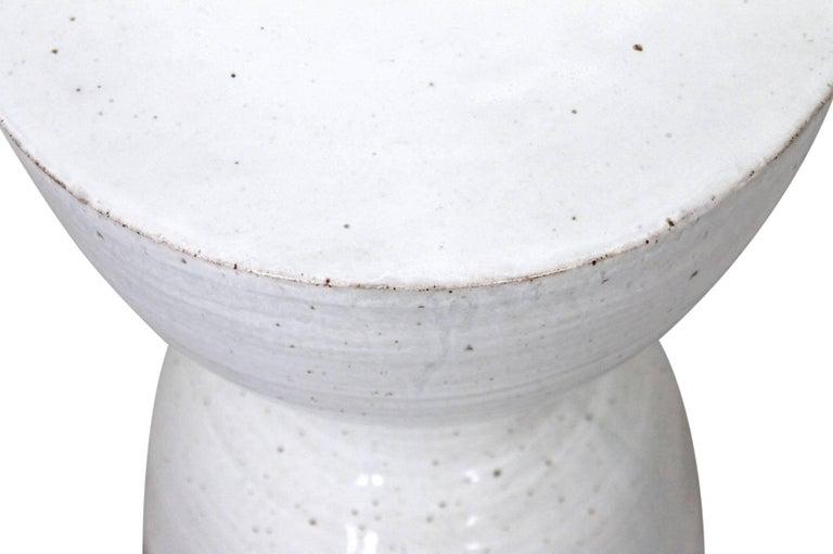 Large Tariki Ceramic Stool For Sale 2
