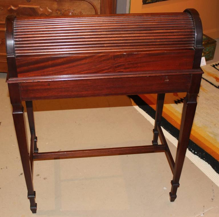 20th Century Shaw Furniture Co Petite Roll Top Writing Desk Cambridge Ma Circa 1920