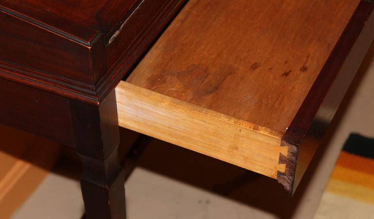 Shaw Furniture Co Petite Roll Top Writing Desk Cambridge Ma Circa 1920 For