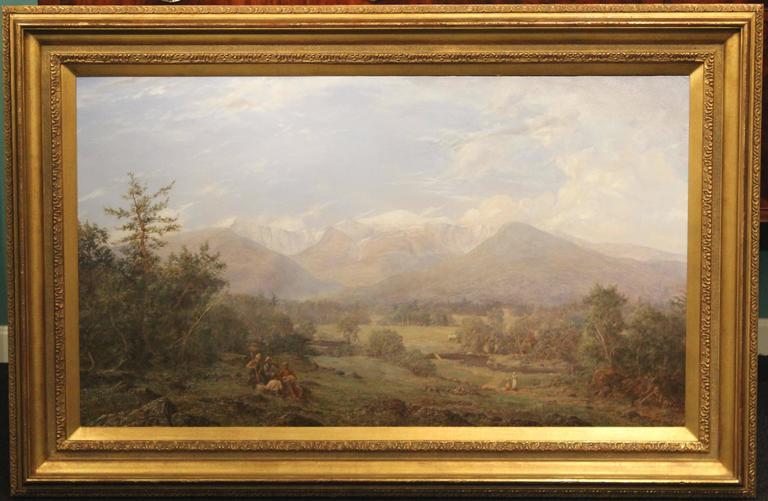 Erik Koeppel White Mountain Landscape Oil Painting Mt. Washington NH 2