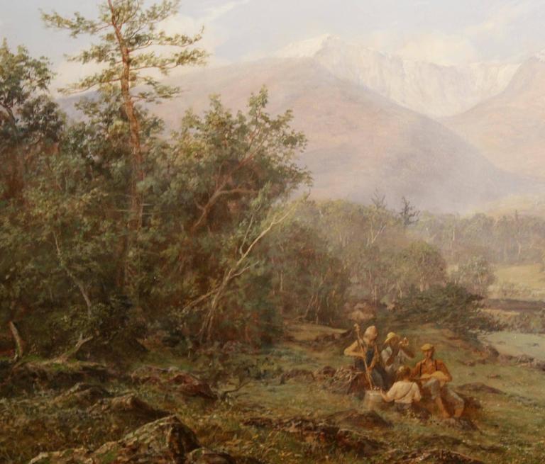 Erik Koeppel White Mountain Landscape Oil Painting Mt. Washington NH 3
