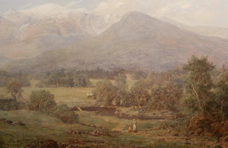 Erik Koeppel White Mountain Landscape Oil Painting Mt. Washington NH 4