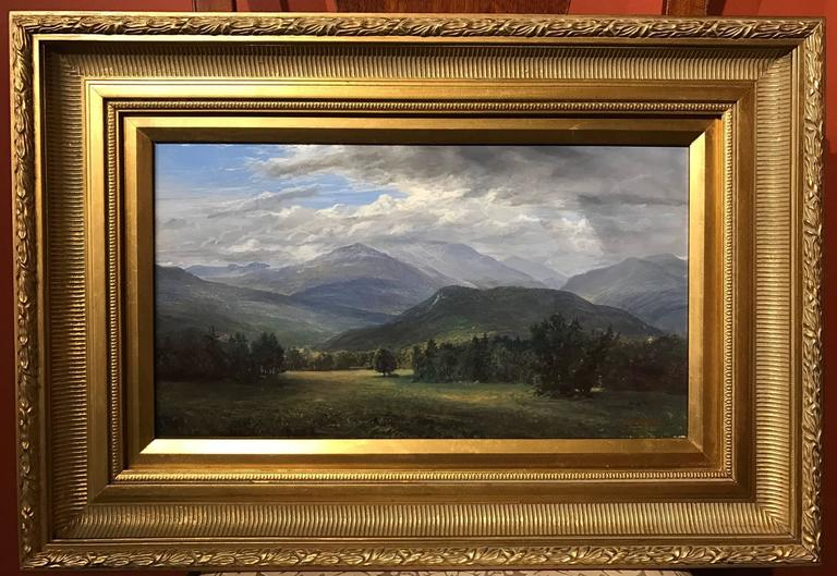 "Erik Koeppel NH White Mountain Landscape ""Mt. Washington Beneath the Clouds"" 2"