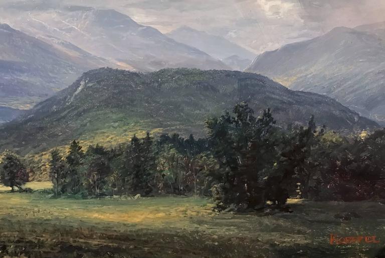 "Erik Koeppel NH White Mountain Landscape ""Mt. Washington Beneath the Clouds"" 4"